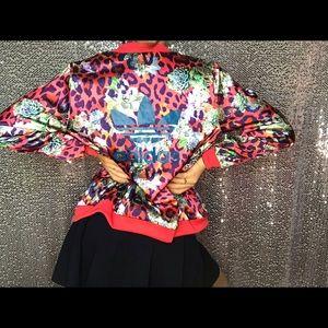 S Adidas bomber jacket